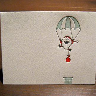 Geronimo Letterpress Holiday Card