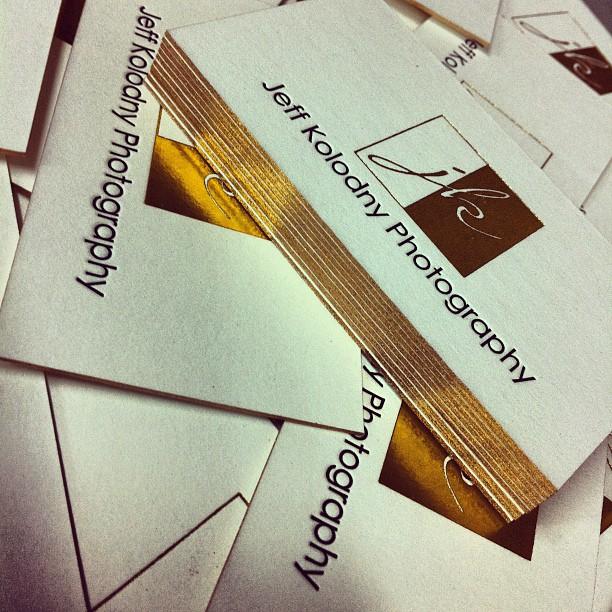 Letterpress business card samples dolce press business card samples reheart Image collections