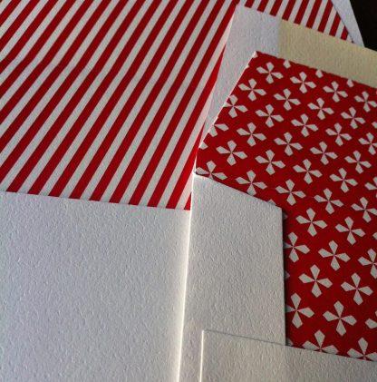 Envelope liner closeup