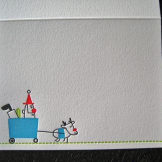 Giddyup Letterpress Holiday Card
