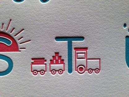Letterpress Train