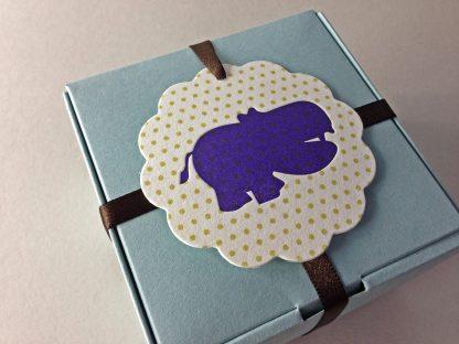 Tag + Ribbon + Box = The perfect gift!