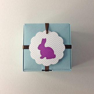 Bunny Letterpress Hang Tag