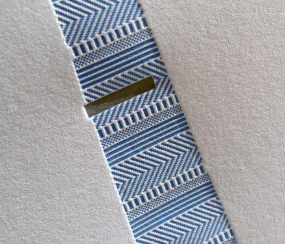 Textured Tie Closeup