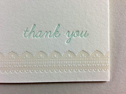 Letterpress close up