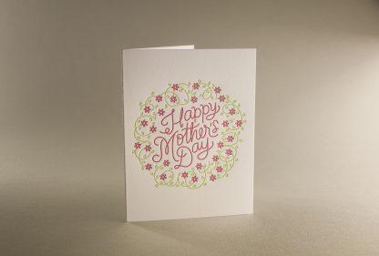 Mom's Wreath Greeting Card