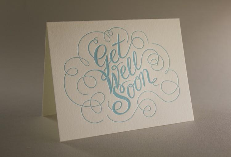 Get Well Script - Get Well Greeting Card
