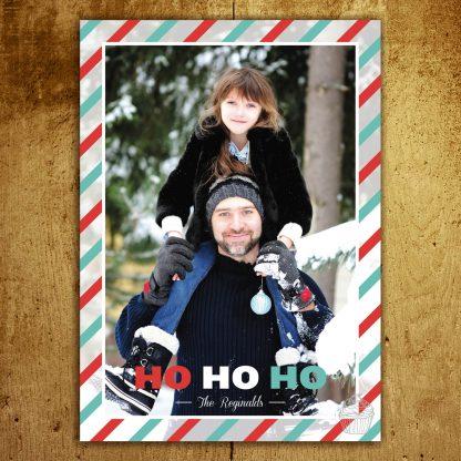 H10 - Ho Ho Ho - The Reginalds - Holiday Photo Card - Dolce Press