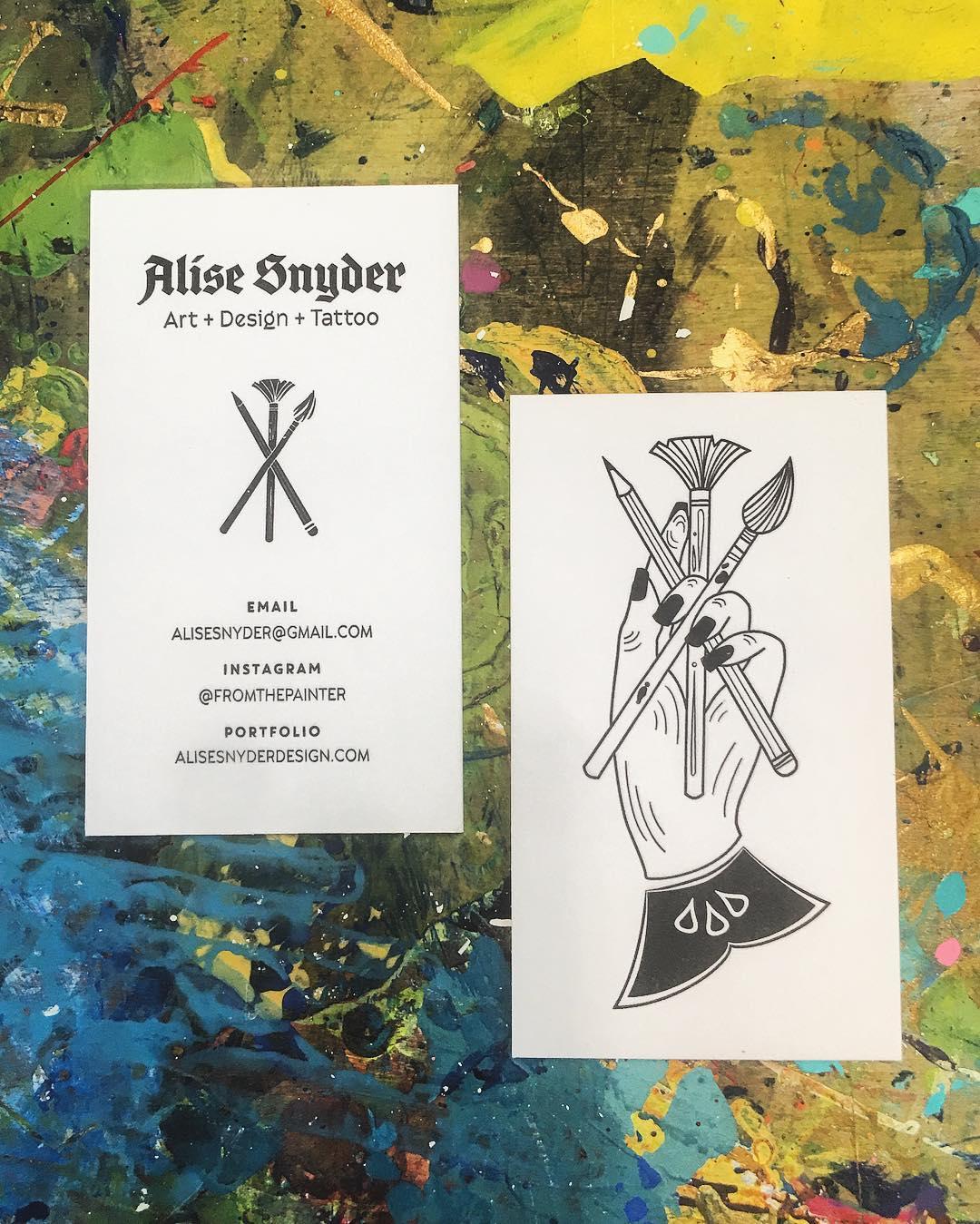 One color Letterpress Business Cards